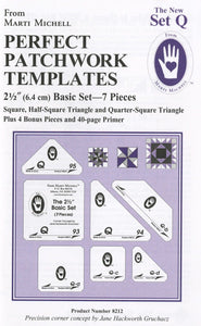 Perfect Patchwork Templates - Set Q