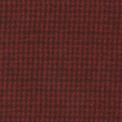 Woolies Flannel Houndstooth Red MASF 18503-R