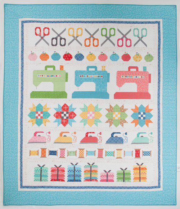 Sew By Row Quilt Kit - 2019002