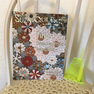 Suzn Quilts Tiny Dresden Template