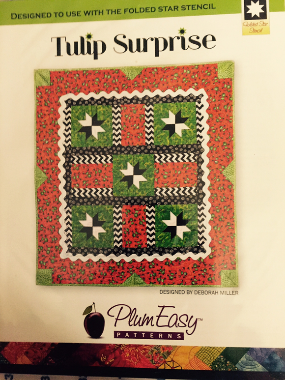 Tulip Surprise Pattern by Plum Easy