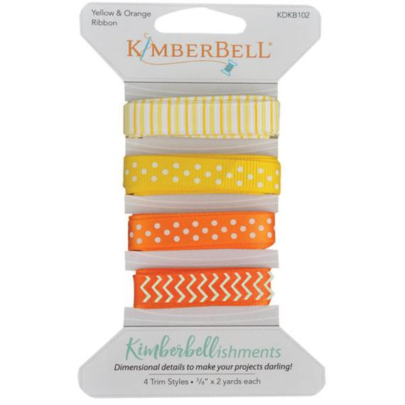 Kimberbell Yellow & Orange Ribbon