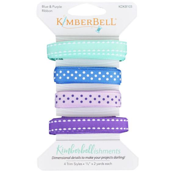 Kimberbell Blue & Purple Ribbon