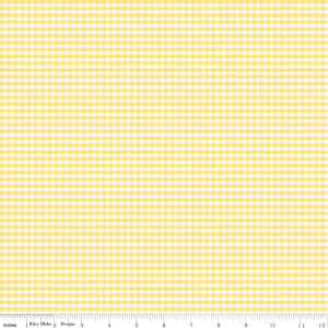 C440-50 Yellow Small Gingham