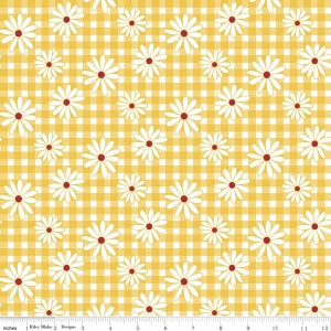 C5901 Yellow Gingham Girls