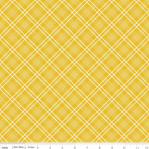 C5904 Yellow Gingham Girls