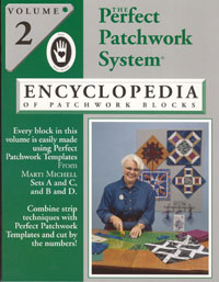 Volume 2 Encyclopedia of Patchwork Blocks Book