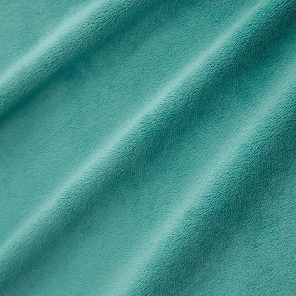 Shannon Fabrics Solid Cuddle 3 Teal.