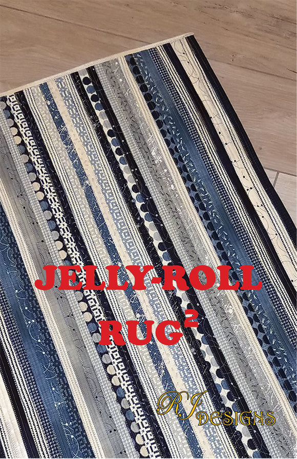 Jelly Roll Rug Rectangle