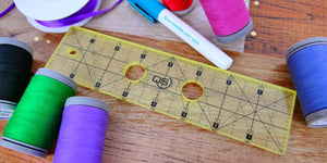 "Quilters Select 2"" x 8"" Machine Quilting Ruler"