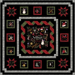 Winter Joy Quilt Kit 2019005