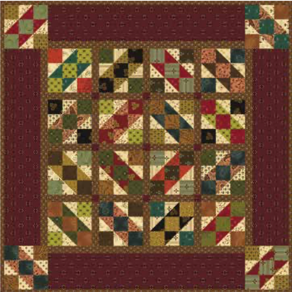 Farmers Market Quilt Kit 20200008