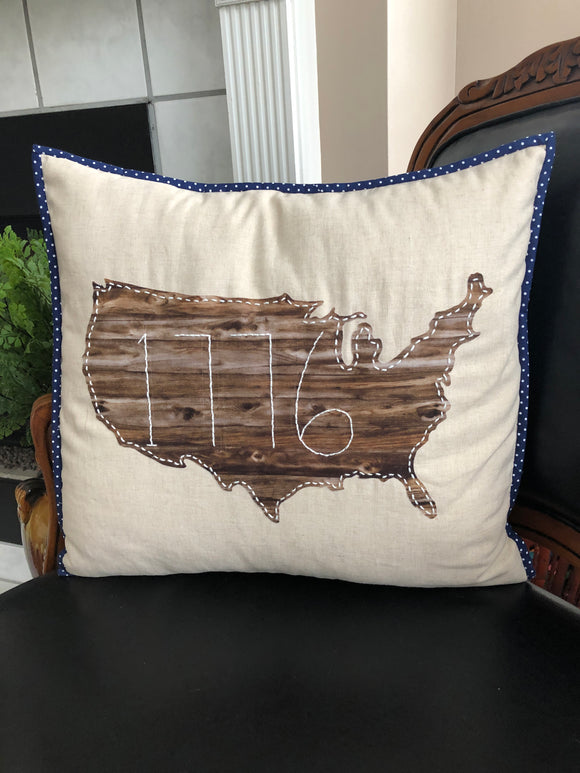 Patriotic Pillow Kit 2019003