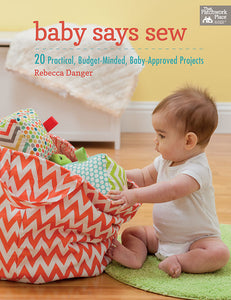 Baby Says Sew Book
