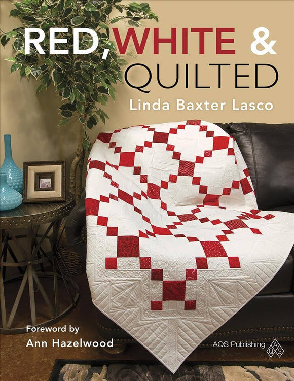 Red, White, & Quilted Book