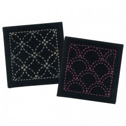 Sashiko Coaster Collection
