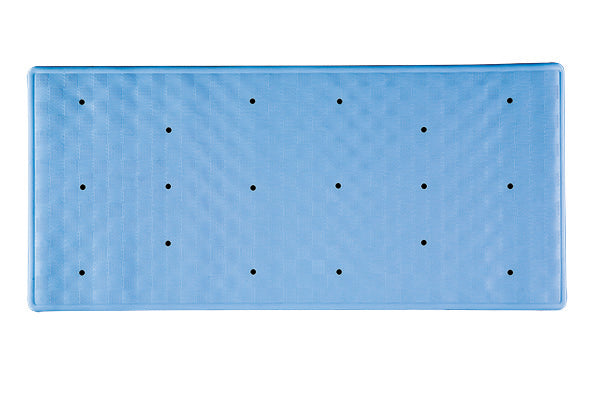 Cornflower Blue Roman Bath Mat