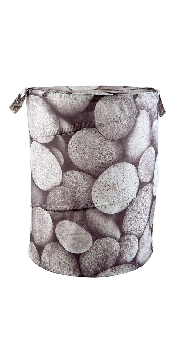 Pop Up Laundry Bin Pebbles