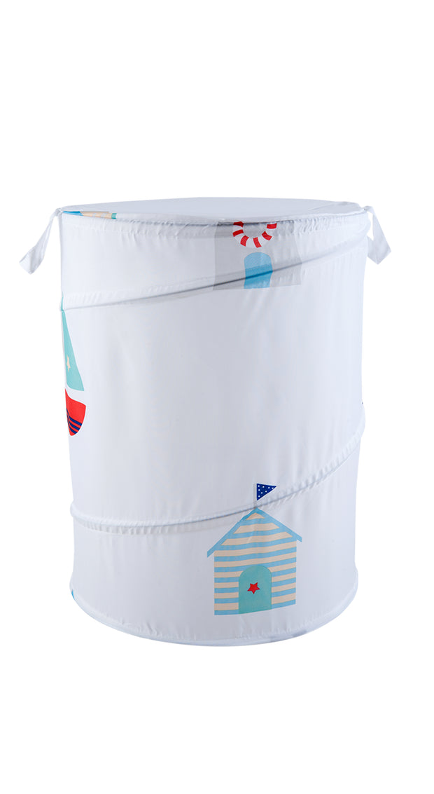 Pop Up Laundry Bin Beach Huts