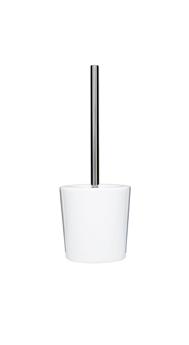 Ceramic Toilet Brush and Holder