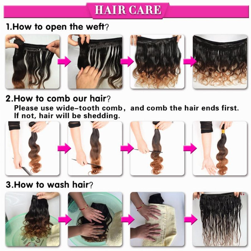 HOW TO KEEP THE HUMAN HAIR SOFT