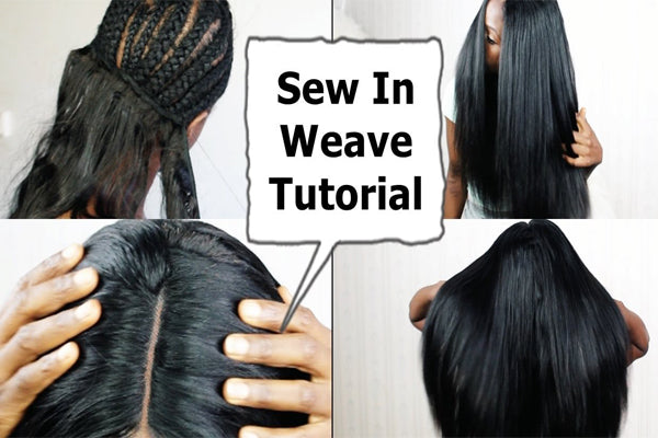 HOW TO DO A SEW IN WEAVE?