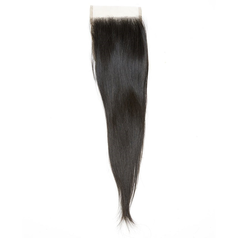 Raw Indian Straight Transparent Lace Closure