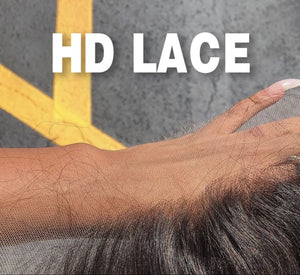 Natural Straight HD Lace Frontal
