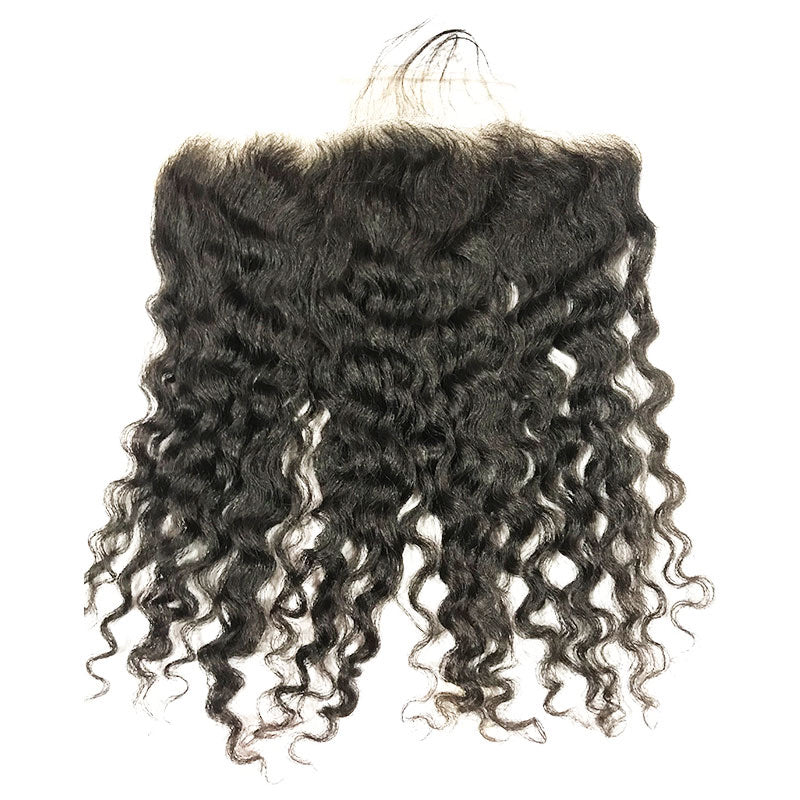 Raw Burmese Curly Lace Frontal