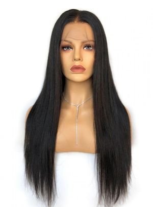 Silky Straight Glueless Lace Wig
