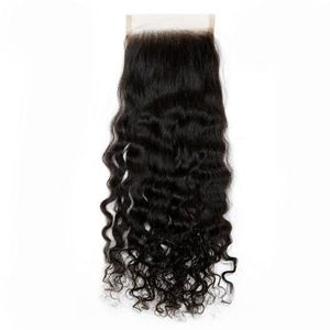 Raw Burmese Curly Lace Closure