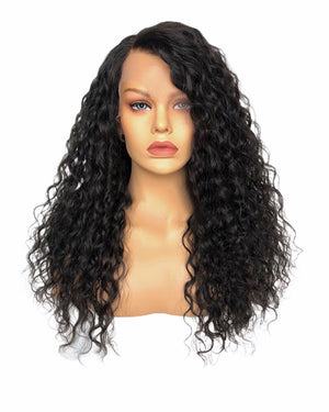 Brazilian Deep Wave Glueless Lace Wig