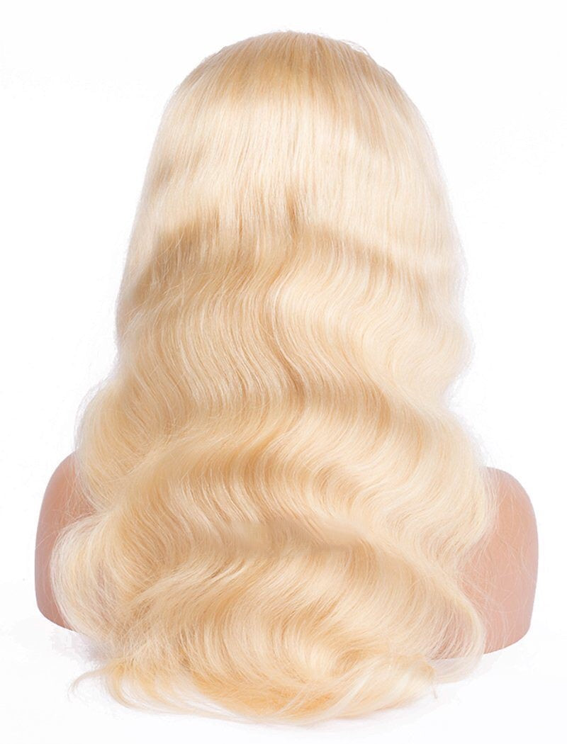 Brazilian Blonde Body Wave Glueless Lace Front Wig
