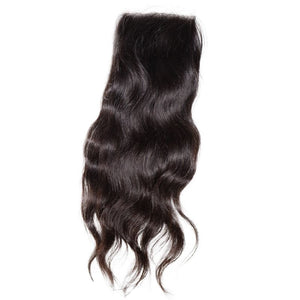 Raw Indian Natural Wave Transparent Lace Closure