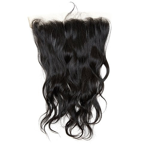 Raw Indian Natural Wave Transparent Lace Frontal
