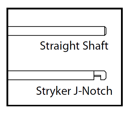 Straight Shaft vs Stryker J-Notch