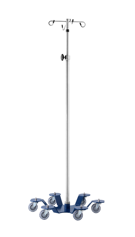 Heavy Duty 6-Leg 6-hook Low Center of Gravity IV Stand-Blickman