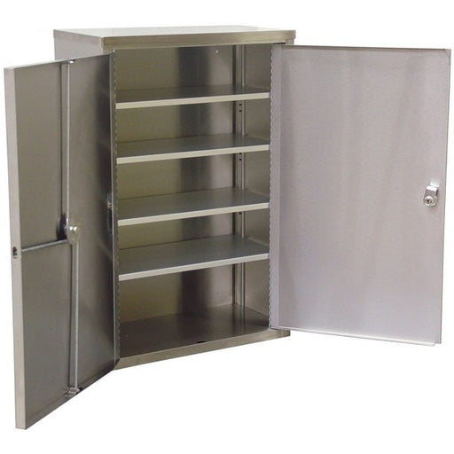 "Double Door Narcotic Cabinet W 4 Shelves (24""H X 16""W X 8""D)-Omnimed"
