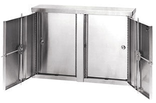 Twin Double Door Pass-Thru Narcotic Cabinets