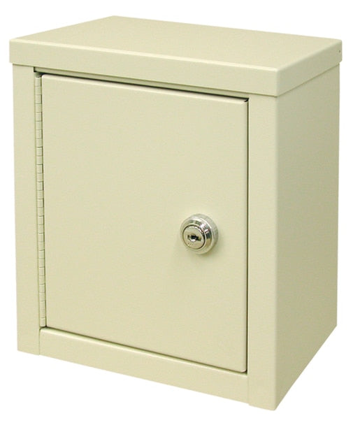 "Mini Double Door Economy Narcotic Cabinet (9""H X 8""W X 5 5?8""D) - Didage"