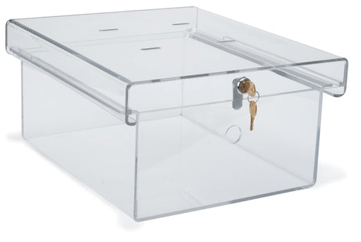 X-Large Clear Acrylic Refrigerator Lock Box