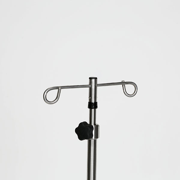 Stainless Steel Base 6-leg IV Pole - Didage