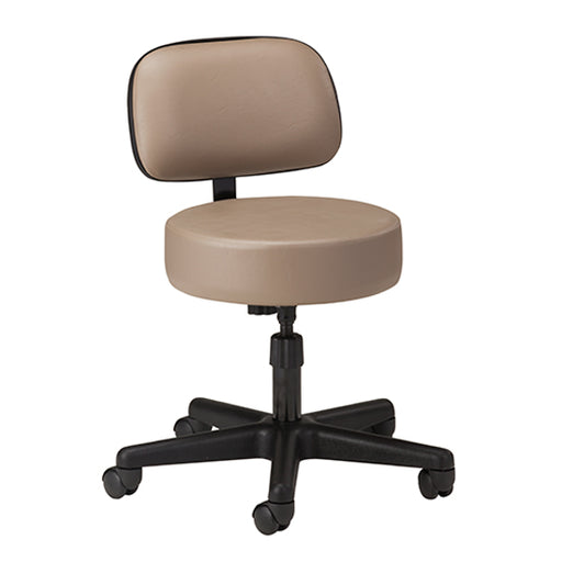 2130-21 5-Leg Spin Lift Stool with Backrest