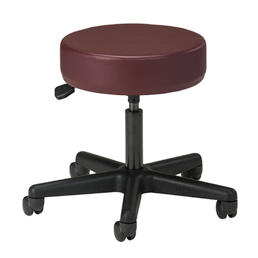 2135 Black Base 5-Leg Pneumatic Stool