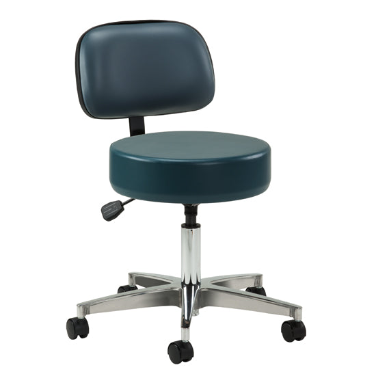 2155-21 5-Leg Pneumatic Stool with Backrest