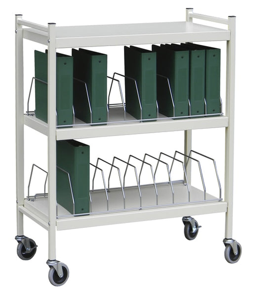 Economy Open Style Chart Racks (Wired Dividers)-Omnimed