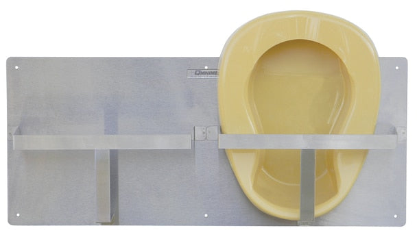 Double Bedpan Rack (303026)-Omnimed