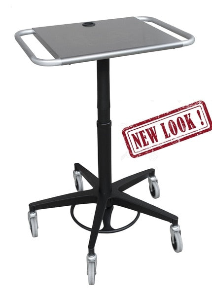 Adjustable Laptop Transport Stand (350305)-Omnimed