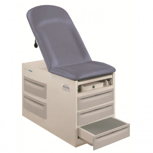 Brewer 4001 Basic Exam Table with Pelvic Tilt and Drawer Warmer