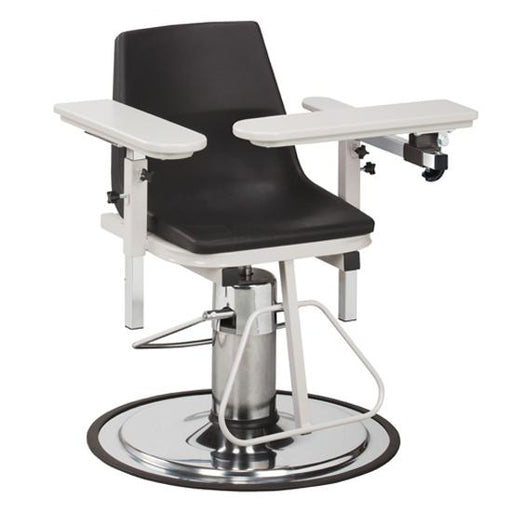 6330-P H Series, E-Z-Clean, Blood Drawing Chair with ClintonClean Arms